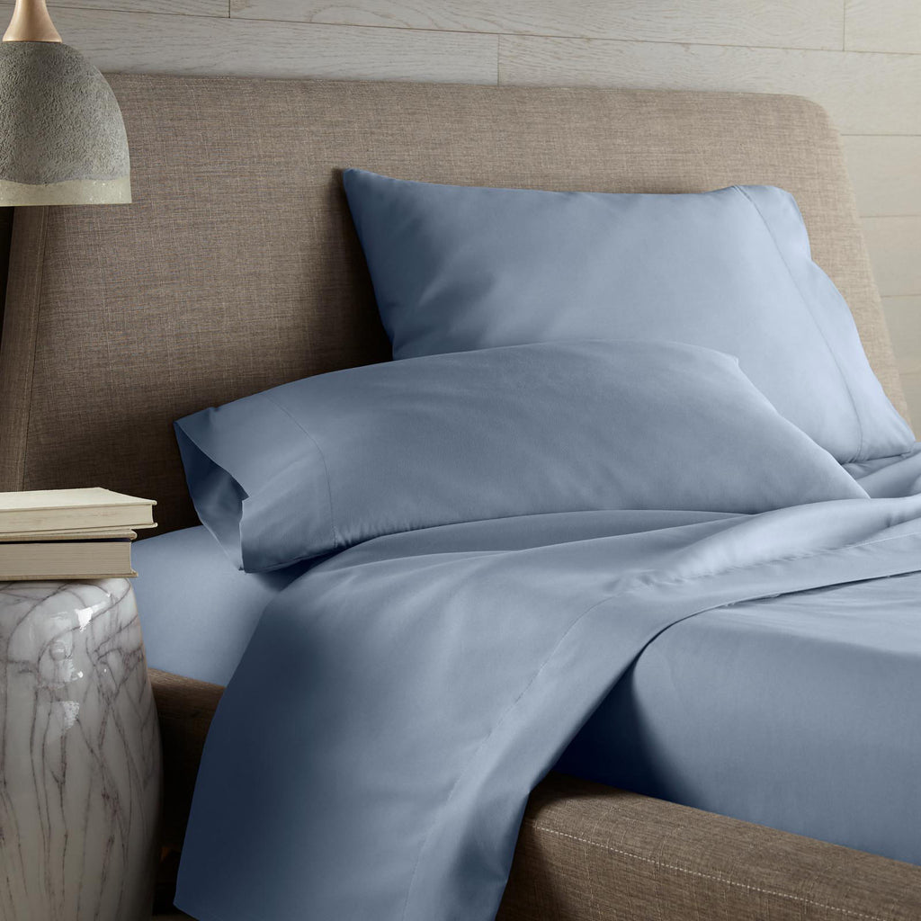 Colors of the Sea 4-piece Sheet Set blue