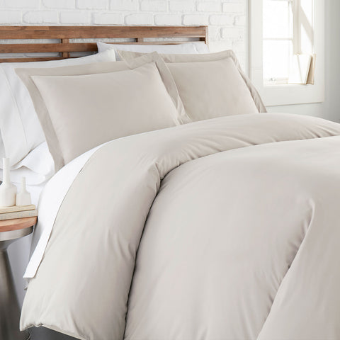 90 GSM Classic_Duvet Cover Set_Bone