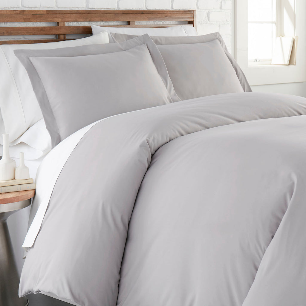 90 GSM Classic_Duvet Cover Set_Light Grey