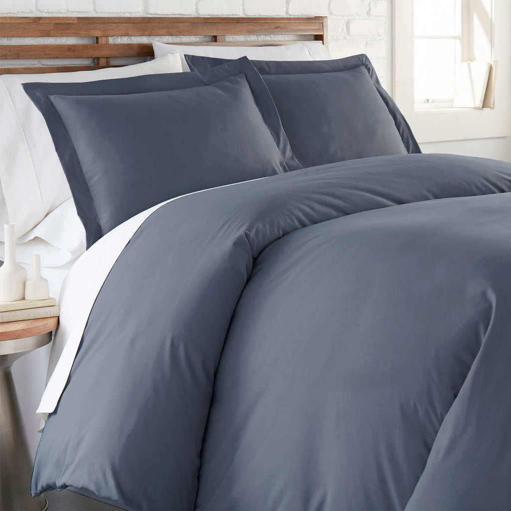 90 GSM Classic_Duvet Cover Set_steel blue