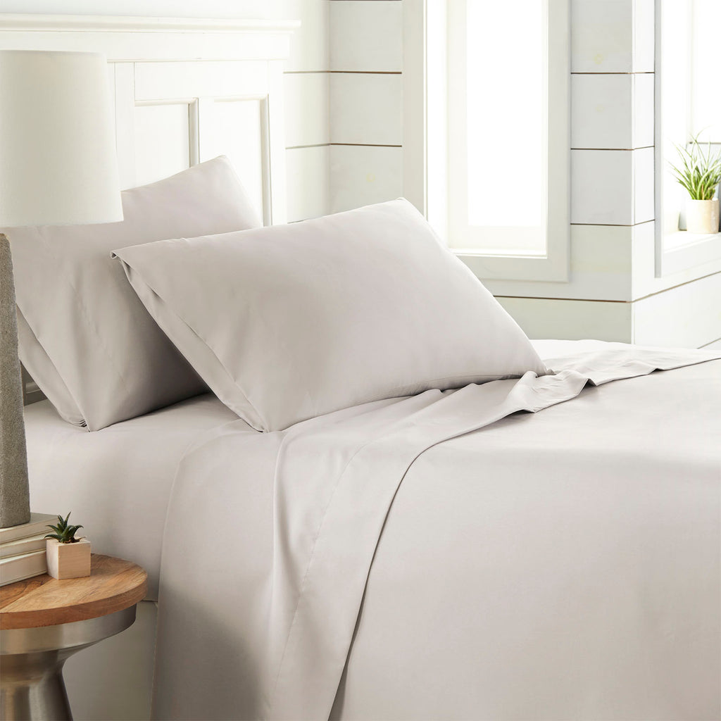 90 GSM Classic_4-Piece Sheet Set_bone