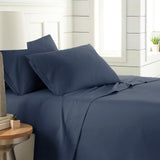 90 GSM Classic_4-Piece Sheet Set_navy blue