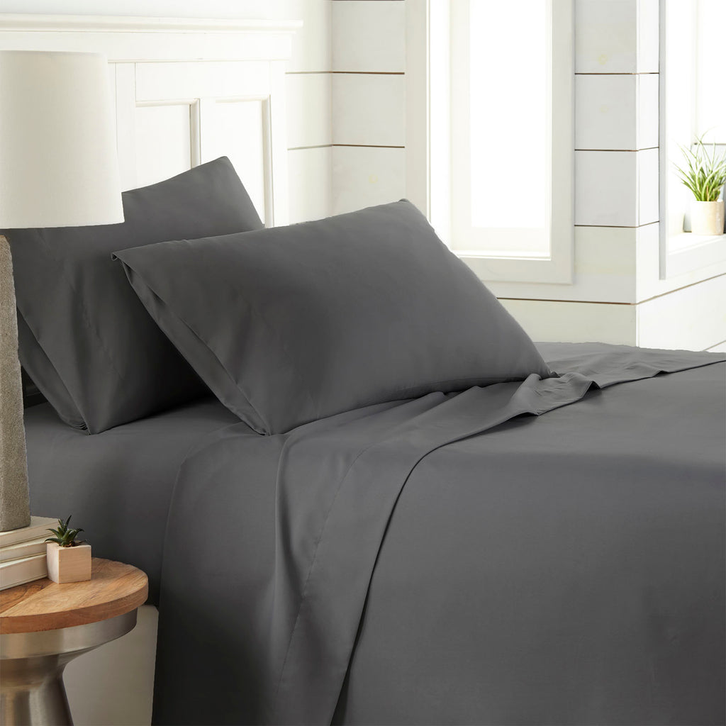 90 GSM Classic_4-Piece Sheet Set_slate grey