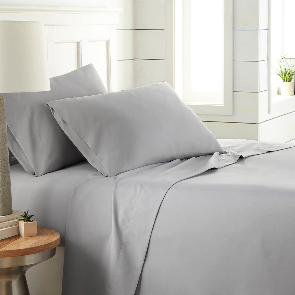 90 GSM Classic_4-Piece Sheet Set_steel grey