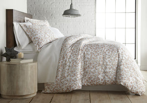 Forevermore Reversible Cotton Duvet Cover Set