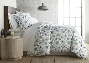 Grand Symphony Reversible Cotton Duvet Cover Set