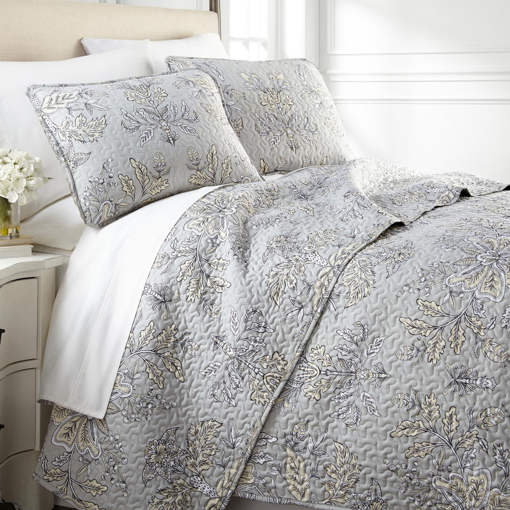 Baronessa_quilt set_grey