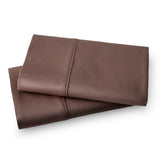 Solid Color 100% Cotton Sateen_Pillow Cases_brown