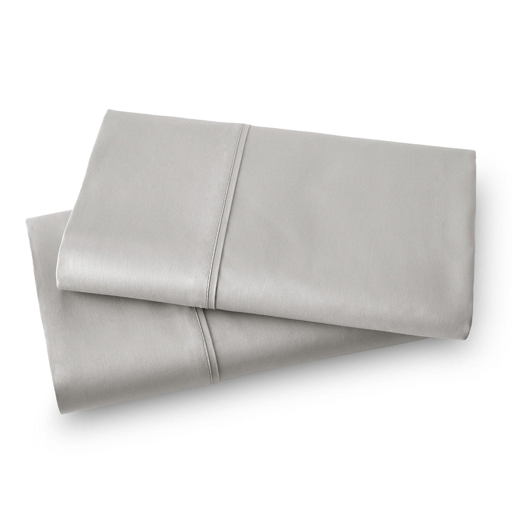 Solid Color 100% Cotton Sateen_Pillow Cases_steel grey