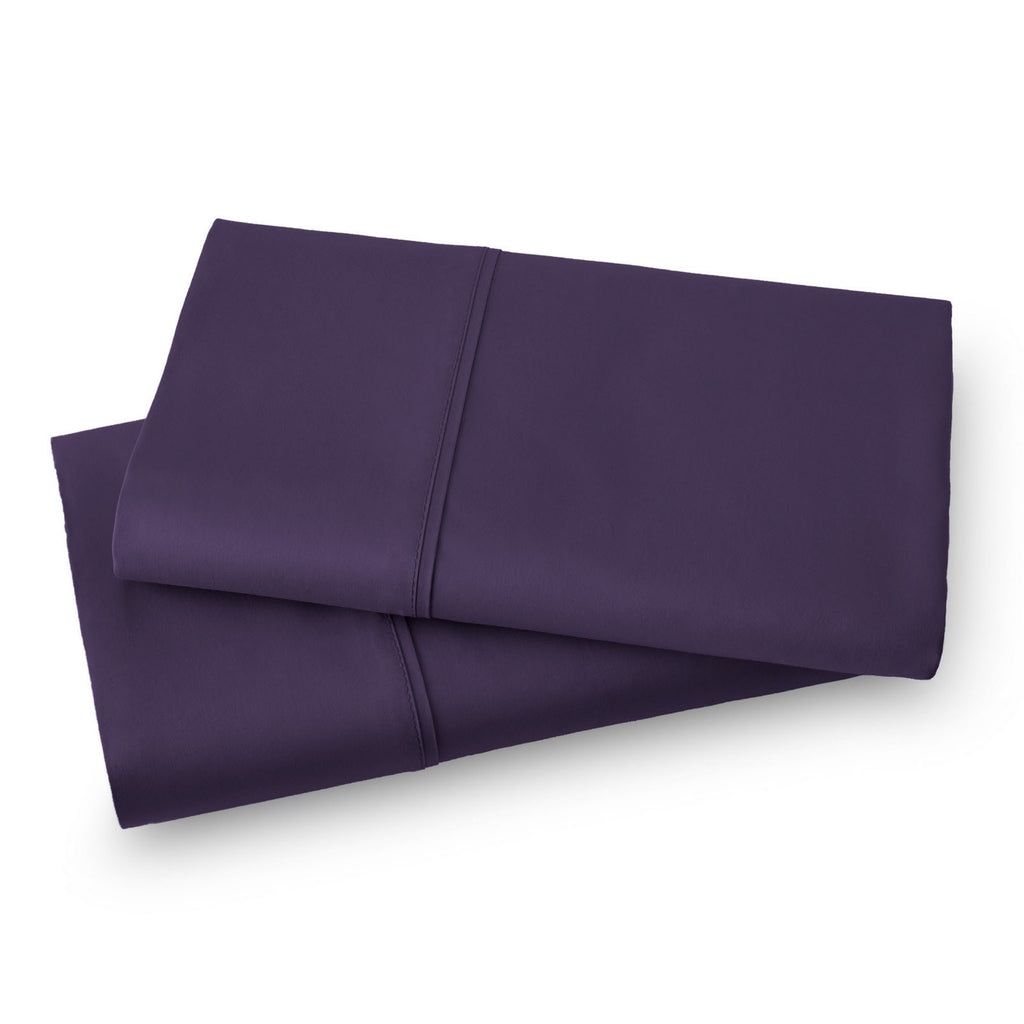 Solid Color 100% Cotton Sateen_Pillow Cases_purple