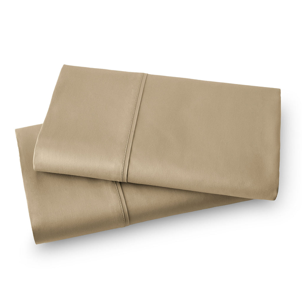 Solid Color 100% Cotton Sateen_Pillow Cases_taupe