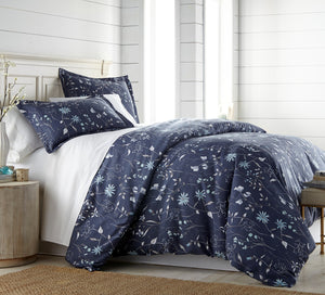 Secret Meadow Reversible Comforter and Sham Set