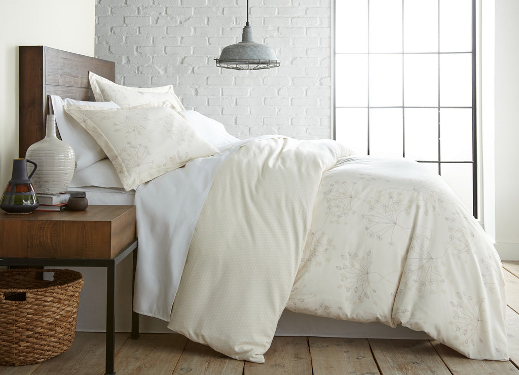 Efflorescence and Snowdrops Reversible Duvet Cover Sets
