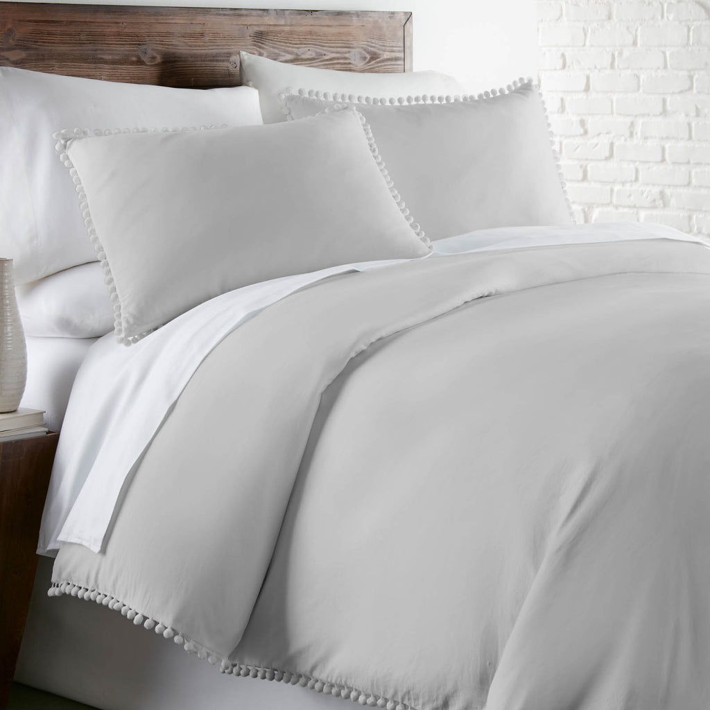 Vintage Hem_Duvet_Light_Grey