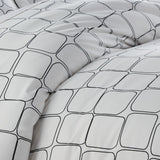 Modern Blocks_Duvet Set_Black