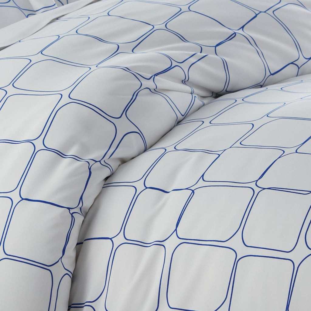 Modern Blocks_Duvet Set_Blue
