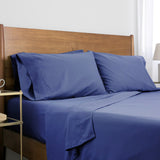 6-Piece Pre-Wash Fabric_sheet set_denim