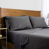 6-Piece Pre-Wash Fabric_sheet set_slate