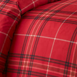 Purely Plaid_comforter_red