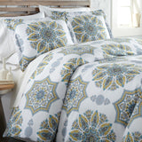 Tranquil Zen Reversible Duvet Cover and Sham Set