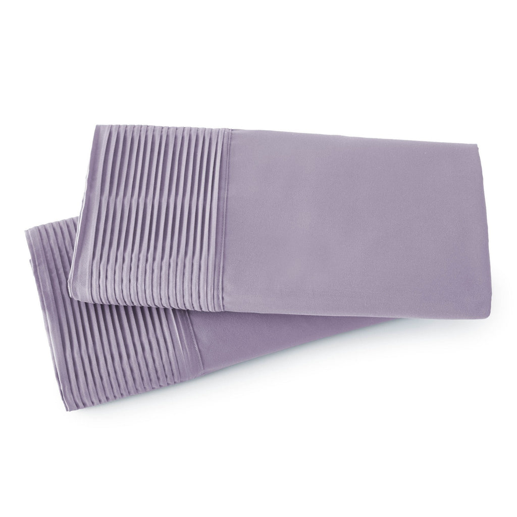 Pleated Hem Pillow Cases