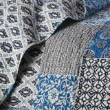 World Song_Quilt_Blue