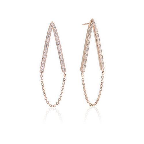 Ladies' Earrings Sif Jakobs E1009-CZ-RG