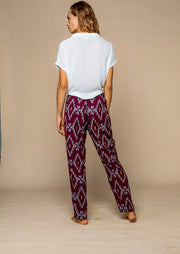 Multipurpose Loungewear Pants in Saphire style, handmade high quality organic rayon.