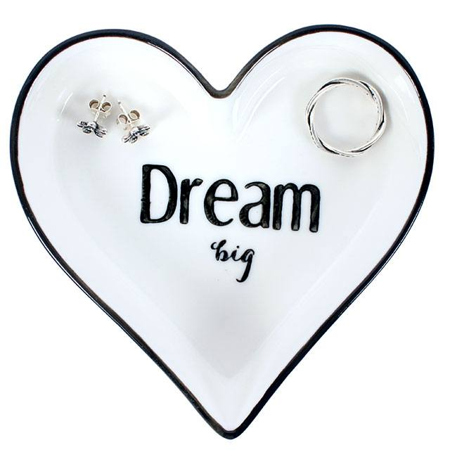 Dream big jewellery dish