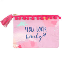 You look lovely Zip up make up pouch