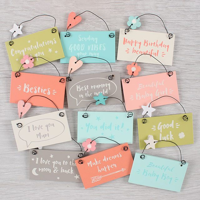 A Teenie Tiny Keepsake Sign