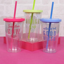 Shake it up drinking cup