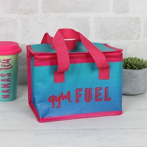 Gym fuel ombre cool bag