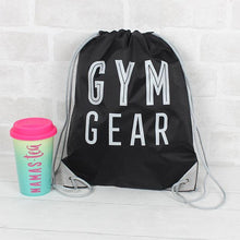 Gym gear drawstring bag