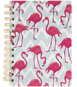 Flamingo Bay Hardback Notebook A6