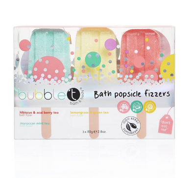 Bath Bomb Lolly Fizzers (3 X 80G)