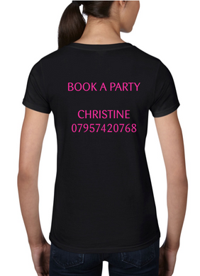 Personalised V neck Tshirts
