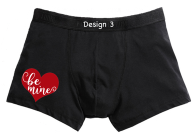 Be Mine mens boxer shorts