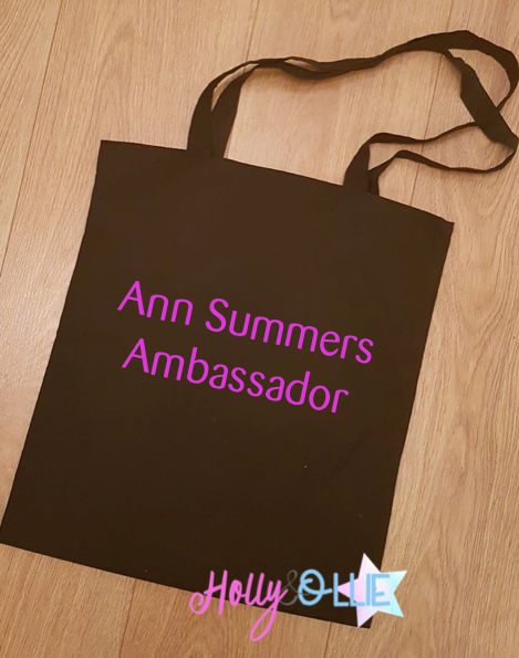 Personalised Canvas Tote Bag - Ann Summers