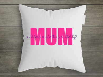 Mum - Personalised Cushion