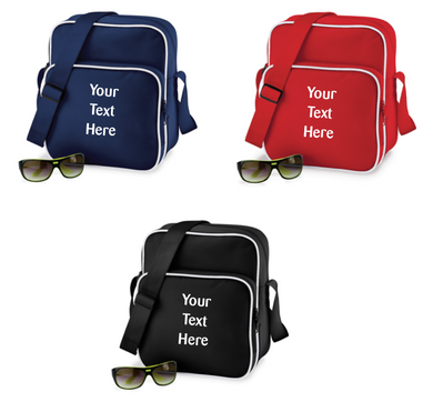 Front Pocket Messenger Bag - Optional Personalisation