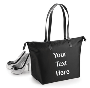 Zipper Tote Bag - Optional personalisation