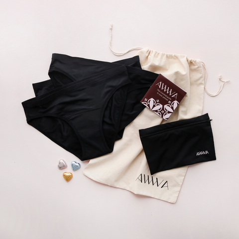 Ultimate Teen Kit - Cotton Brief (Black) + Swimwear
