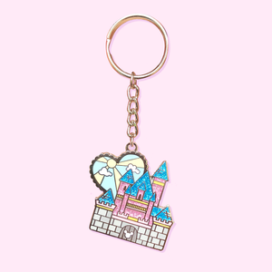 Just Another Castle Keychain