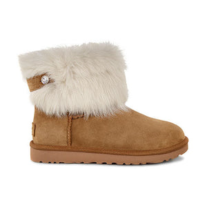 40b57169c UGG Valentina Boots Swarovski Beige TreadLite Shoes Women New Size 6 ...