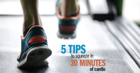 Five tips to squeeze in 30 minutes of cardio while traveling