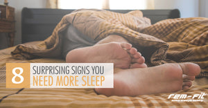 Eight surprising signs you need more sleep