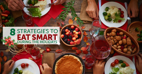Eight strategies to eat smart during the holidays
