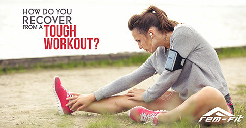 How do you recover from a tough workout?