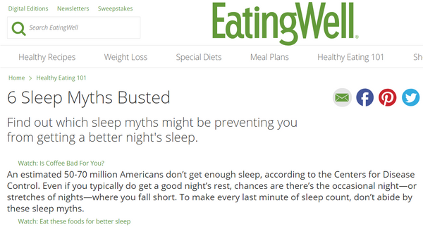 Debunking the Most Common Sleep Myths